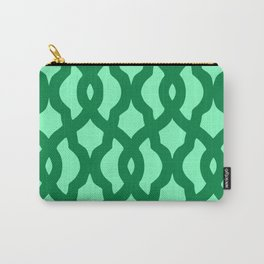 Grille No. 2 -- Seafoam Carry-All Pouch