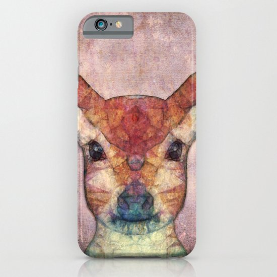Abstract Fawn iPhone & iPod Case