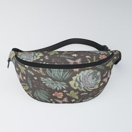 Cacti by Night Fanny Pack