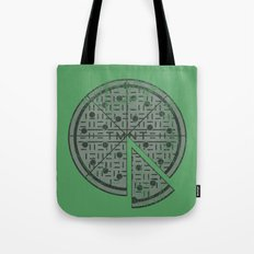 Slice of sewer life Tote Bag