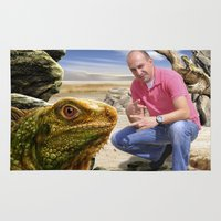 lizard Area & Throw Rugs featuring Lizard by amanvel