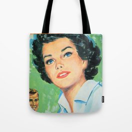 Black Haired Beauty Tote Bag