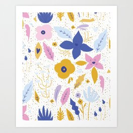 Sunday Florals Art Print