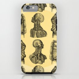 Human Anatomy Pattern iPhone Case