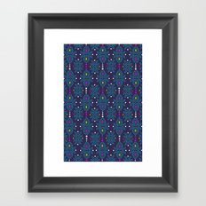 Stella Pattern Framed Art Print