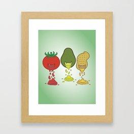 Taste Addiction Framed Art Print