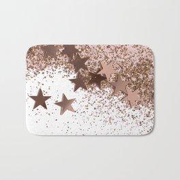 SHAKY STARS ROSEGOLD Bath Mat