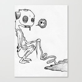 Cute Gore Monster Canvas Print