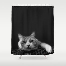 Thats My Cat !! 01 Shower Curtain