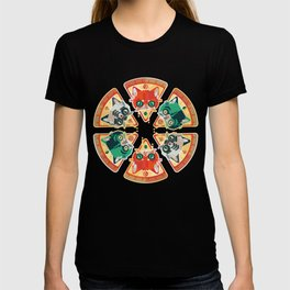 Pizza Slice Cats  T-shirt