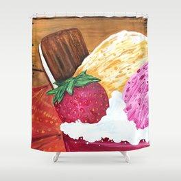 Ice Cream Dream Shower Curtain