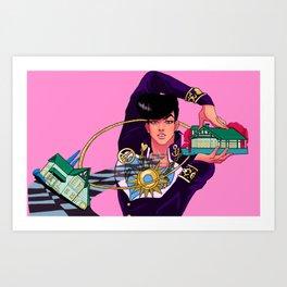 Josuke Art Print