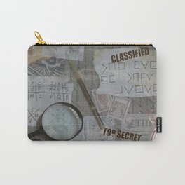 Vintage Detective Design Carry-All Pouch