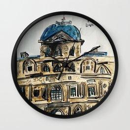 Musée du Louvre Wall Clock