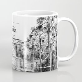 Ben Hill Griffin Stadium (North Facade) Coffee Mug