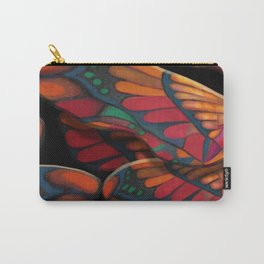 """A thousand colors of butterfly wings"" Carry-All Pouch"