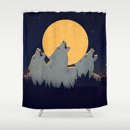 Midnight Sound Shower Curtain