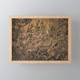 Nigromante Catrina Framed Mini Art Print
