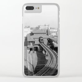 Dudley Station on the Boston Elevated Railway 1904 Clear iPhone Case