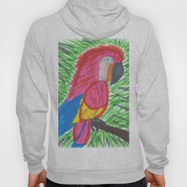 Pink Bird of Paradise Hoody