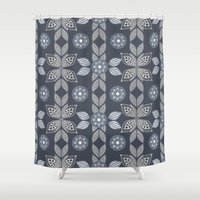 paisley Shower Curtains featuring Paisley by CrystalFairy
