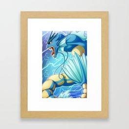 Gyarados Framed Art Print
