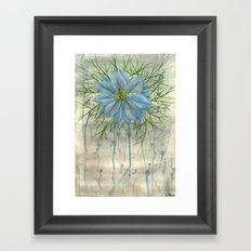 Love in a Grey Mist Framed Art Print