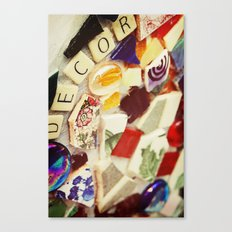 Vintage Decor Canvas Print