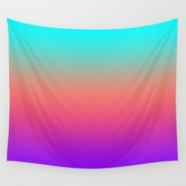 Sunset shades on the sea Wall Tapestry