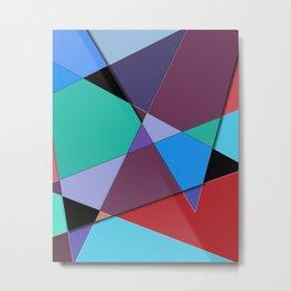 Abstract #513 Metal Print