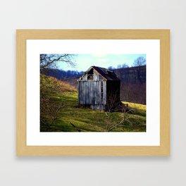 Random Drive By Framed Art Print