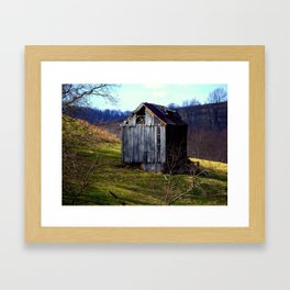 Random Drive By Framed Art Print