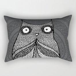 Doodle Owl Rectangular Pillow