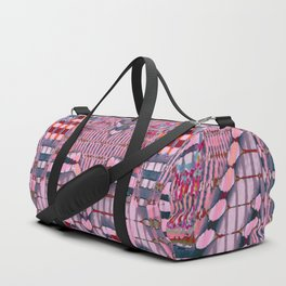 They Sit Above and Look Below [Test Pattern #863] Duffle Bag