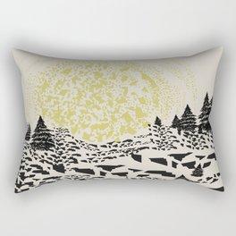 Trippy hills Rectangular Pillow