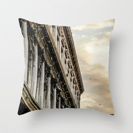 Venice Sunset in St. Marks Throw Pillow