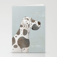great dane Stationery Cards featuring Great Dane by 52 Dogs