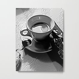 Coffee 2 by David Brier Metal Print