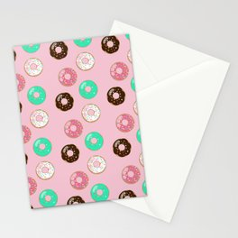Donut Party Stationery Cards