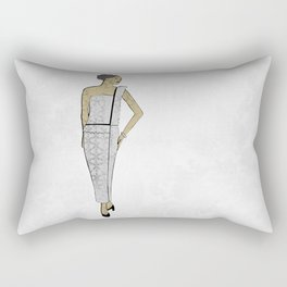 Fashion Illustration 1 Rectangular Pillow