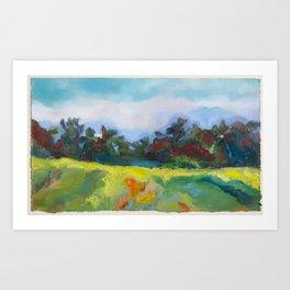 fields Art Print
