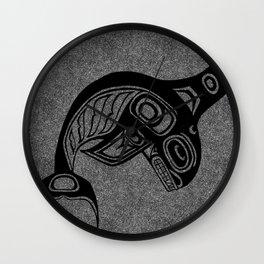 Ink Keét Smoke Wall Clock