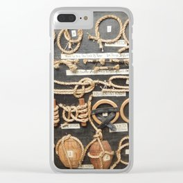 I'm Knots About You Clear iPhone Case