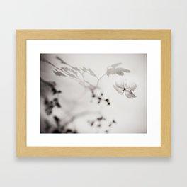 Hortensia Framed Art Print