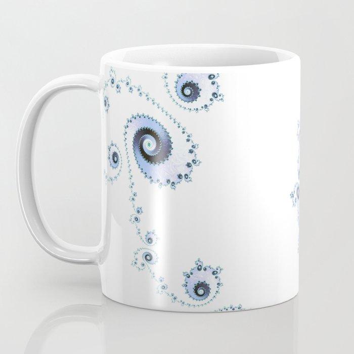 Delicate Lace - Fractal Art Coffee Mug