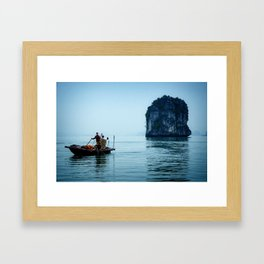 Halong Bay (Vietnam) Framed Art Print