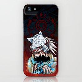 Abstract Kakashi iPhone Case