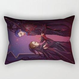 The man in the armor Rectangular Pillow