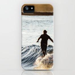 Noosa Longboarder iPhone Case