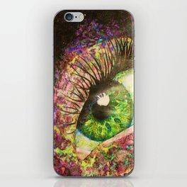 Galaxy Eye iPhone Skin